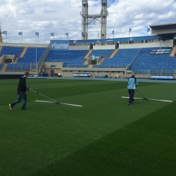Staff training and development; dew removal at Zenit Saint Petersburg